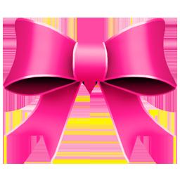 Ribbon Pink Icon 256x256 png