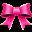 Ribbon Pink Pattern Icon 32x32 png