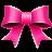 Ribbon Pink Icon 48x48 png
