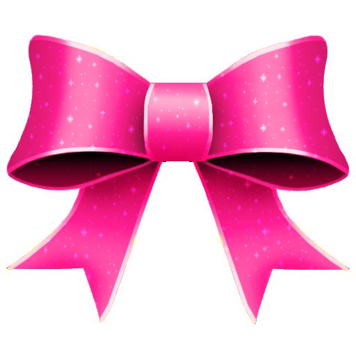 Ribbon Pink Pattern Icon 512x512 png