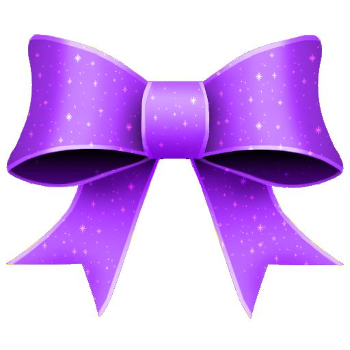 Ribbon Purple Pattern Icon 512x512 png