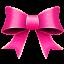 Ribbon Pink Pattern Icon 64x64 png
