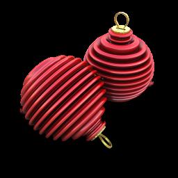 Xmas Ringed Balls Icon 256x256 png