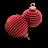 Xmas Ringed Balls Icon 48x48 png