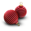 Xmas Ringed Balls Icon 64x64 png