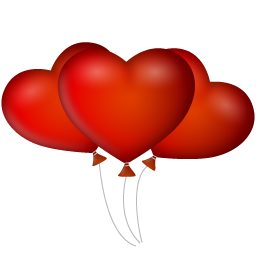 Ballons Icon 256x256 png