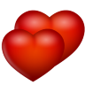Hearts Icon 96x96 png