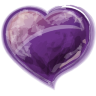 Heart Violet Icon 96x96 png