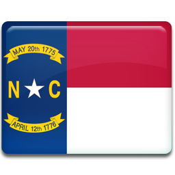 North Carolina Flag Icon 256x256 png