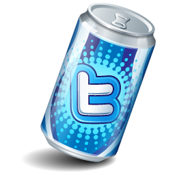 Soda Twitter Icon 256x256 png