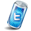 Soda Twitter Icon 64x64 png
