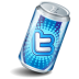 Soda Twitter Icon 72x72 png