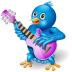 Twitter Singer Icon 72x72 png