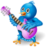 Twitter Singer Icon 96x96 png