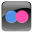 Flickr 3 Icon 32x32 png