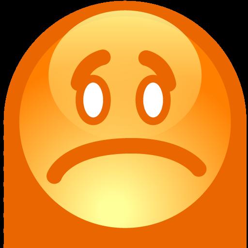 Emoticon Sad Icon 512x512 png