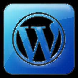 Wordpress Square Icon 256x256 png