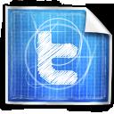 BluePrint Social Icons