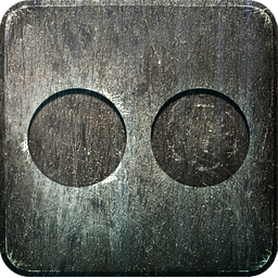Non Highlight Flickr Icon 256x256 png
