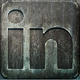 Non Highlight LinkedIn Icon 256x256 png