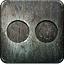 Non Highlight Flickr Icon 64x64 png