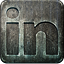 Non Highlight LinkedIn Icon 64x64 png