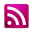 RSS Pink Icon 32x32 png