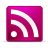 RSS Pink Icon 48x48 png