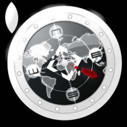 Safari Black Icon 256x256 png