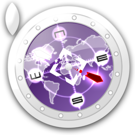 Safari Violet Icon 512x512 png