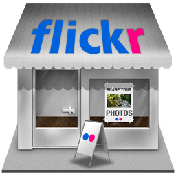 Flickr Shop Icon 256x256 png