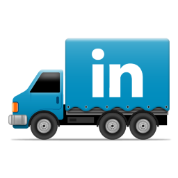 Social Truck LinkedIn 2 Icon 256x256 png