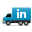 Social Truck LinkedIn 2 Icon 32x32 png