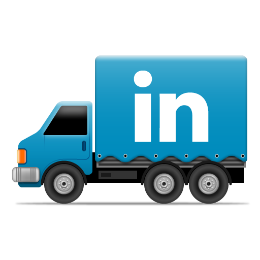 Social Truck LinkedIn 2 Icon 512x512 png