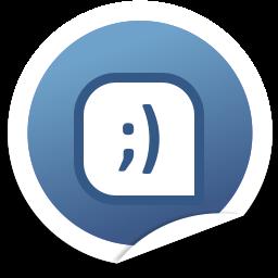 Social Bookmark 2 Tuenti Icon 256x256 png