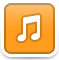 Audio Player Icon 59x60 png