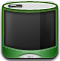 iPod Green Off Icon