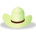 Hat 2 Green Icon 128x128 png