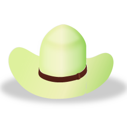 Hat 2 Green Icon 256x256 png