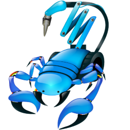 Scorpio Robot Icon 256x256 png
