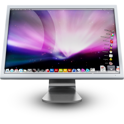 Cinema Display Icon 256x256 png