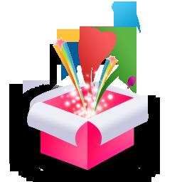 Magic Box Pink Icon 256x256 png