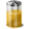 Yellow Battery Icon 32x32 png