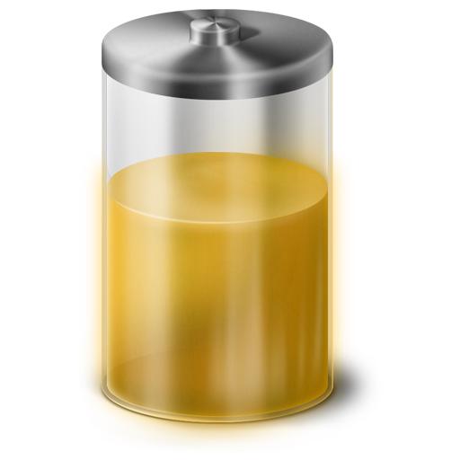 Yellow Battery Icon 512x512 png