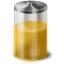 Yellow Battery Icon 64x64 png