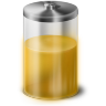 Yellow Battery Icon 96x96 png