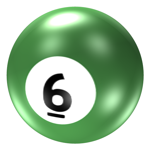 Pool Ball 6 Icon 512x512 png