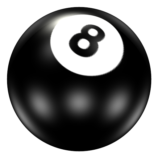 Pool Ball 8 Icon 512x512 png