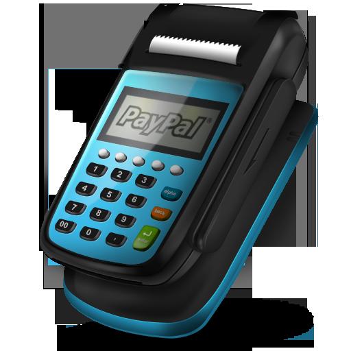 Pos Machine Paypal Icon 512x512 png