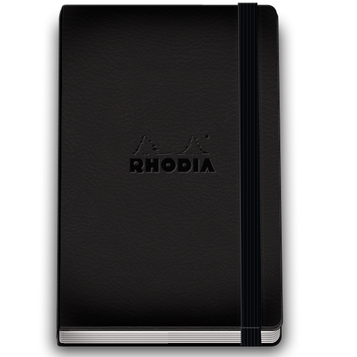 Rhodia Notebook 5 Icon 512x512 png